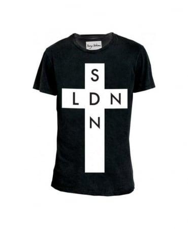 Serge DeNimes Black SDN X LDN T-Shirt