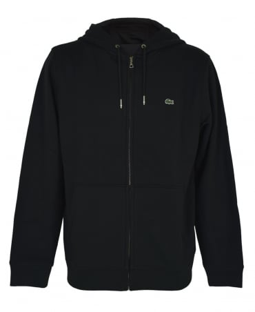 Lacoste Black SH6958 Hooded Sweatshirt