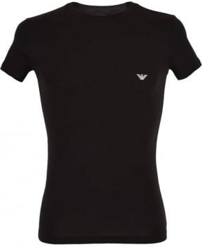 Emporio Armani  Black Short Sleeve T-Shirt