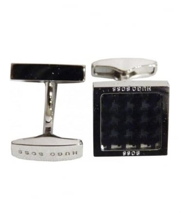 Hugo Boss Black/Silver Esmerald Cufflinks