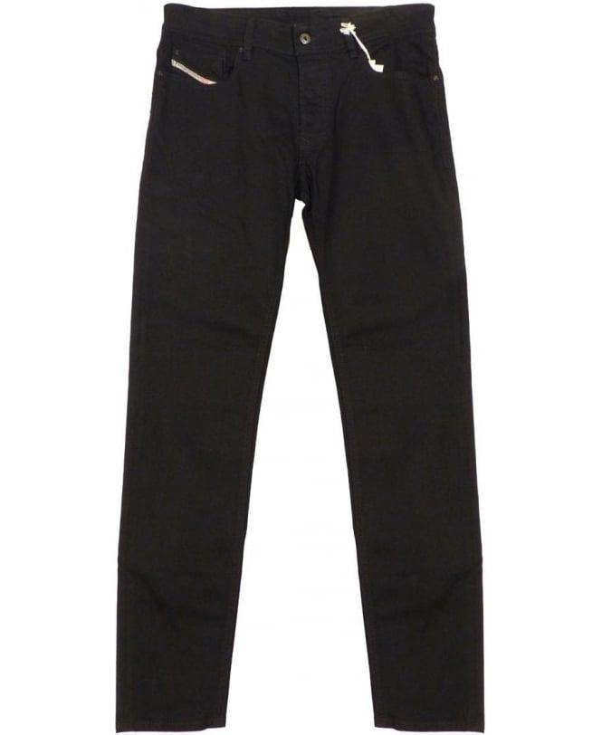 Diesel Black Sleenker Slim Fit 0886Z Jeans