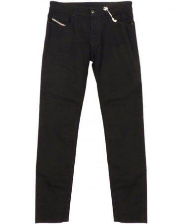 Diesel Black Sleenker Slim Fit 0886Z Jeans