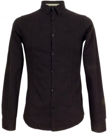 Armani Black Slim Fit B6C80 Shirt