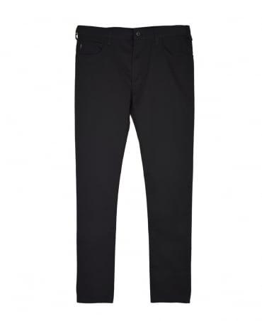 Armani Jeans Black Slim Fit J45 Jeans
