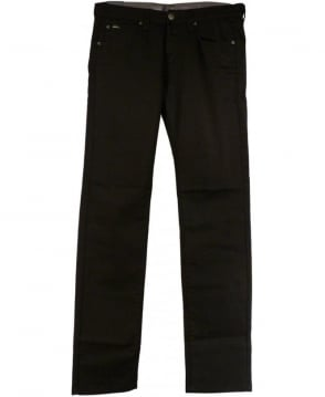 Armani Collezioni Black Slim Fit Low Waist J06 Jeans