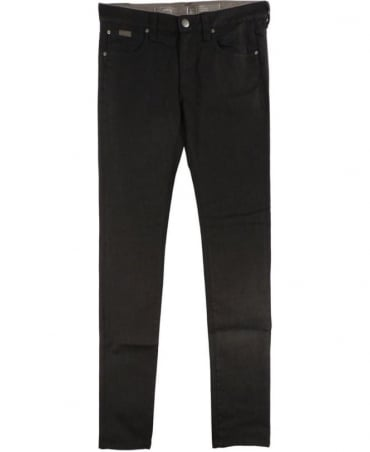 Armani Black Slim Fit Stretch CIJ06 Jeans