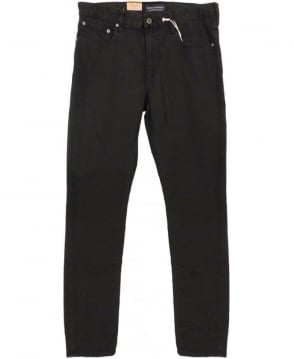 Scotch & Soda Black Slim Skinny Fit Skim Jeans