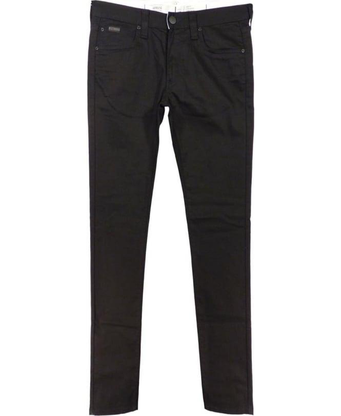 Armani Black Stretch Slim Fit J06 Jeans