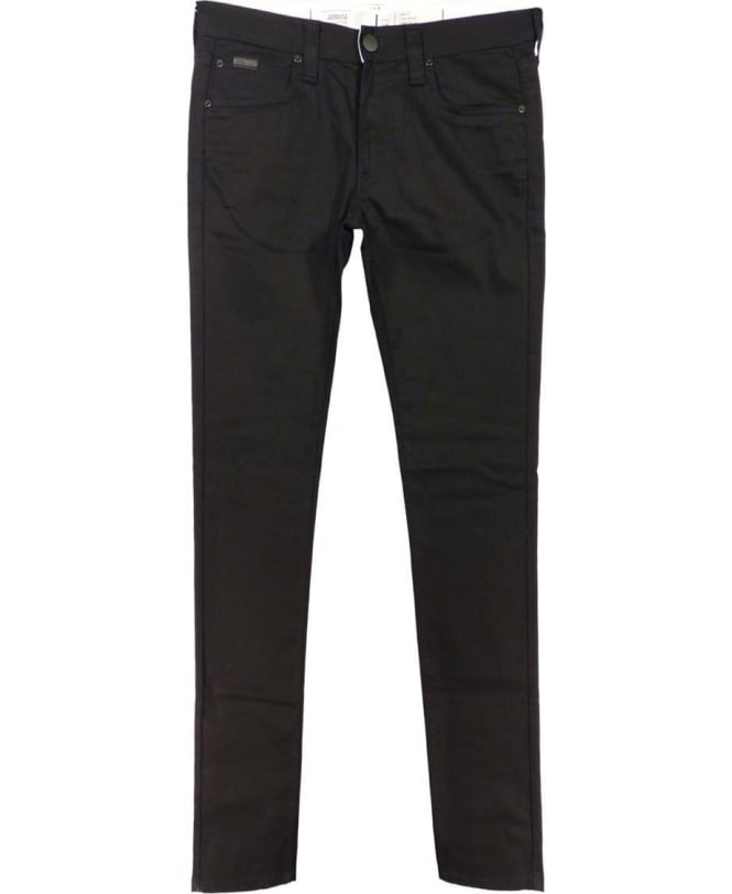 Armani Collezioni Black Stretch Slim Fit J06 Jeans