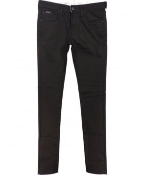 Armani Collezioni Black Stretch Slim Fit J06 Jeans