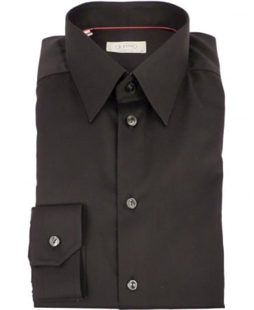 Eton Shirts Black Super Slim 10198981118 Shirt