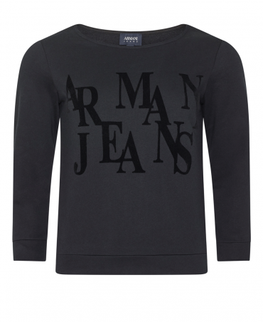 Black Sweatshirt 6YM02 Top