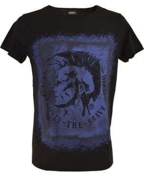 Diesel Black T-Diego-DC-EB T/Shirt