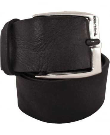 Diesel Black Textured B-Whyz X04408 Belt