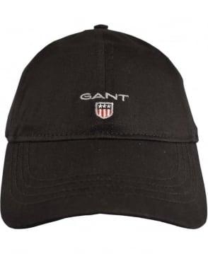 Gant Black Twill 90000 Adjustable Cotton Cap