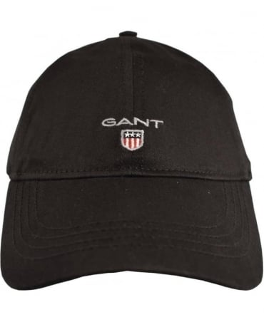 Gant Black Twill 90000 Adjustable Cotton Cap