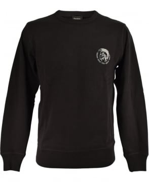 Diesel Black UMLT-Willy Sweatshirt