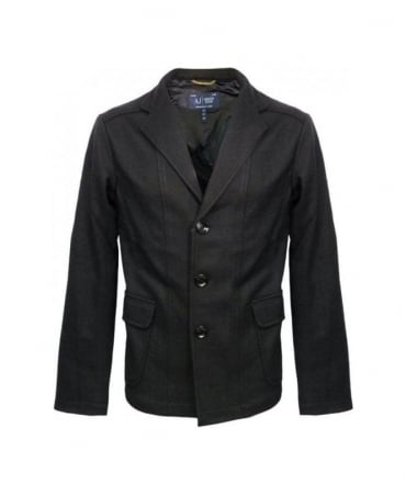 Armani Black Wool Jacket U6N82