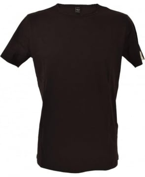 Replay Black Worn Detail T-Shirt