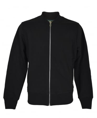 PS By Paul Smith Black Zip Up Bomber Jacket