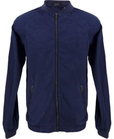 Scotch & Soda Blue 130665 Summer Bomber Jacket