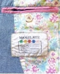 Manuel Ritz Blue 143041 Two Button Jacket
