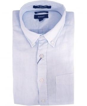Gant Blue 399510 The Linen Shirt
