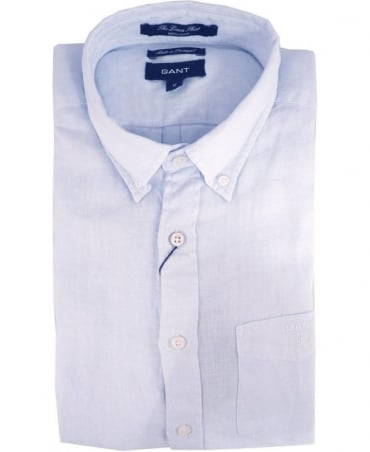 Gant Blue 399510 The Linen Shirt