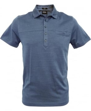 Hugo Boss Blue 50260069 Arpino 27 Slim Fit Polo