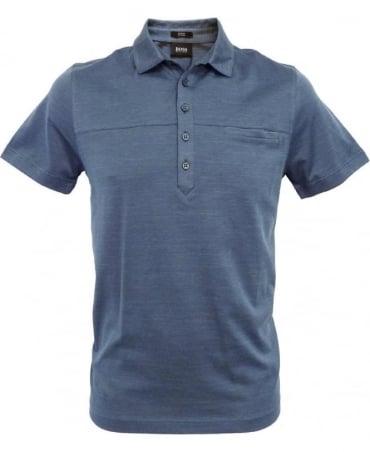 Hugo Boss Blue 50260069 Arpino 27 Slim Fit Polo