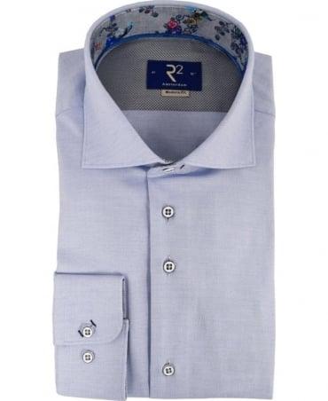 R2 Westbrook Blue 90.WSP.10 Long Sleeve Shirt