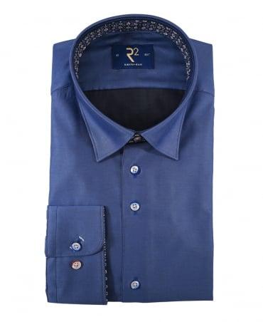 R2 Westbrook Blue 95.HBD.22 Long Sleeve Shirt