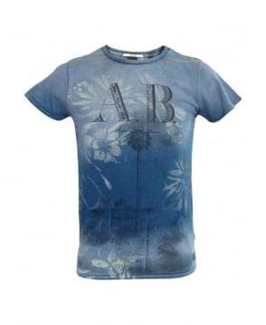 Scotch & Soda Blue A.B 51308 T-Shirt