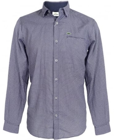Blue Aeroplane Pattern Shirt