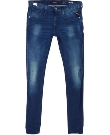 Replay Blue Anbass 09B 752 Stretch Ecoplus Jeans