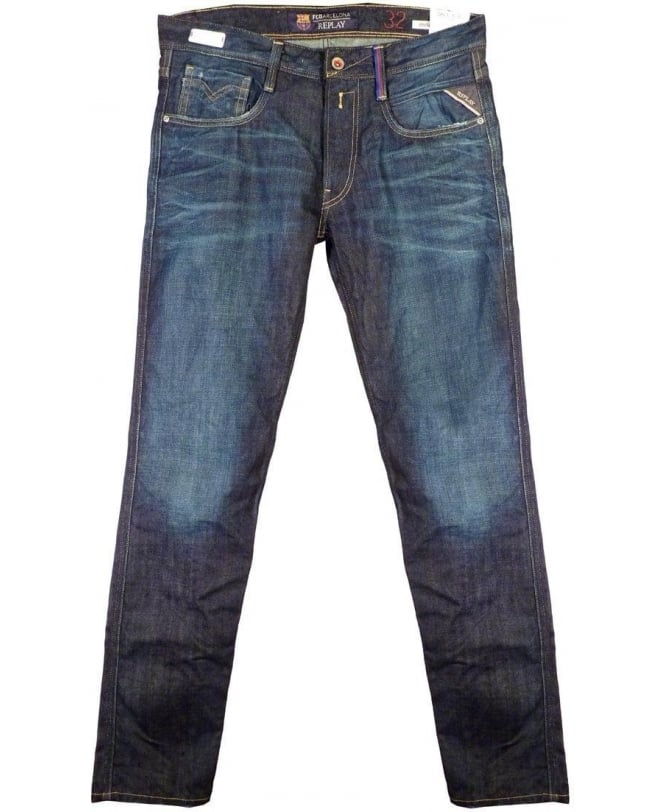 Replay Blue Anbass FC Barcelona Jeans M914