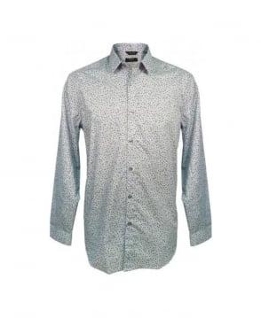 Paul Smith  Blue Aran Floral The Byard D81 Shirt