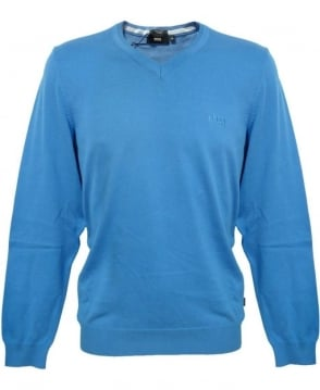 Hugo Boss Blue Barnabas-3 Knitwear Jumper 50262276