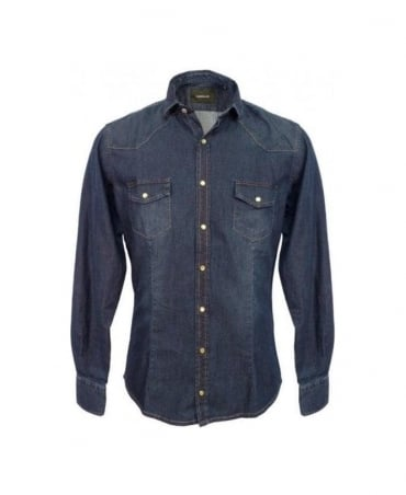 Blue CA315H Denim Shirt