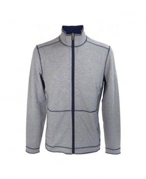 Hugo Boss Blue Cannobio 39 Reversible Sweatshirt