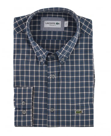 Lacoste Blue Check CH0853 Shirt
