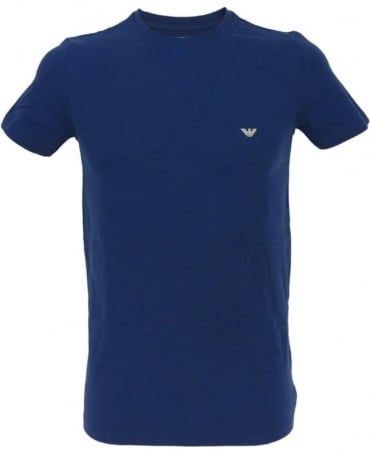 Armani Blue Crew Neck 110853 Underwear T/Shirt