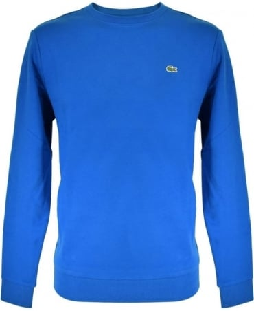 Lacoste Blue Crew Neck Sweater