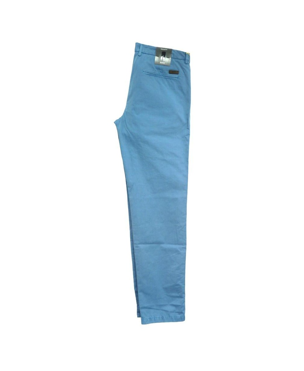 hugo boss blue crigan chino trousers 50260330 hugo boss from jonathan trumbull uk. Black Bedroom Furniture Sets. Home Design Ideas