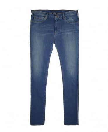 Armani Jeans Blue Denim 8N6J45 Jeans