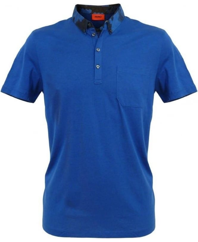 Hugo Blue Dinuit Regular Fit Polo 50260522