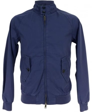 Baracuta Blue Dyed Hastings Harrington Blouson Jacket