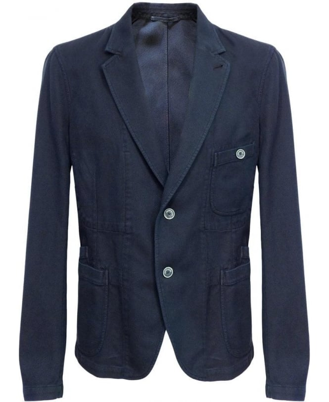 Esemplare Blue E14M63015 Two Button Jacket