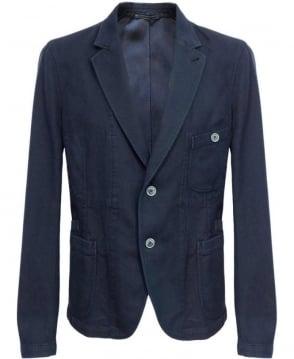 Esemplare Blue E14M63015 Two Button Jacket