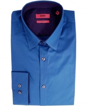 Hugo Blue Efi 50283690 Blue Trim Shirt